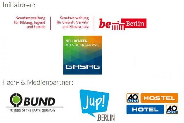 Initiatoren und Partner Berliner Klima Schulen
