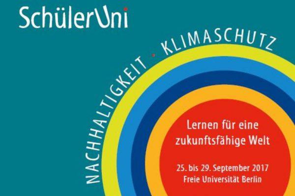 © SchülerUni Nachhaltigkeit + Klimaschutz